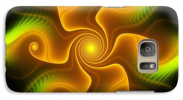 Galaxy Case featuring the digital art Joy by Svetlana Nikolova