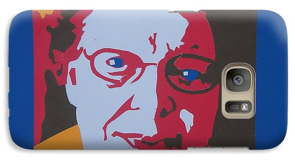 Galaxy Case featuring the drawing Joyce's Portrait by PainterArtist FINs husband Maestro