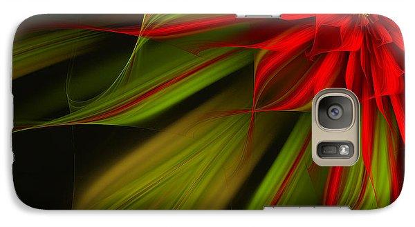 Galaxy Case featuring the digital art Joyful Blossom by Linda Whiteside