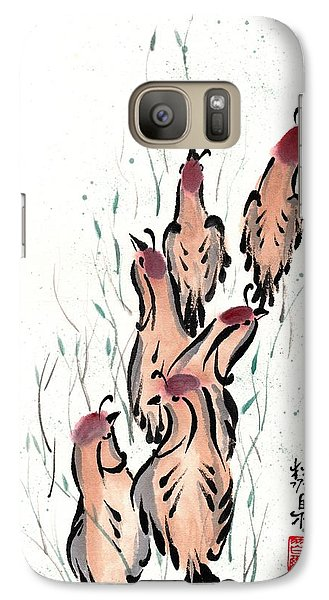 Galaxy Case featuring the painting Joyful Excursion by Bill Searle