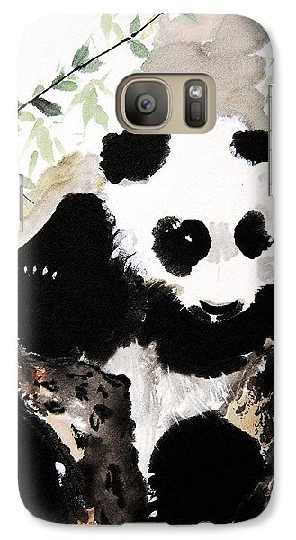 Galaxy Case featuring the painting Joyful Innocence by Bill Searle