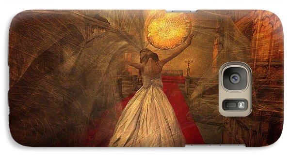 Galaxy Case featuring the digital art Joyous Bride by Kylie Sabra