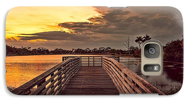 Galaxy Case featuring the photograph Jpp Sunset by Don Durfee