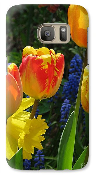 Galaxy Case featuring the photograph Jubilance by Rory Sagner