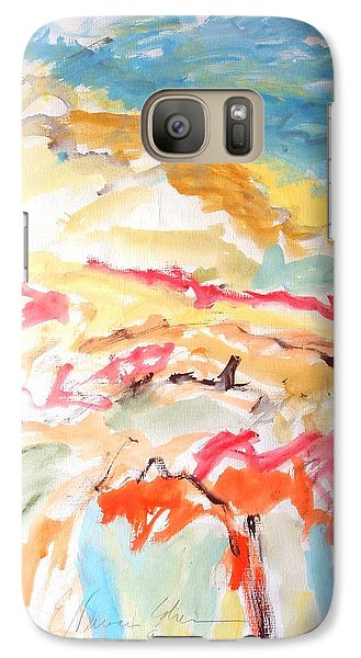 Galaxy Case featuring the painting Jubilation by Esther Newman-Cohen