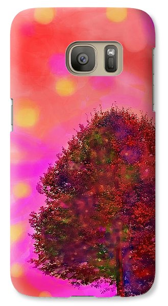 Galaxy Case featuring the digital art Jubilee Of Fall by Mary Armstrong