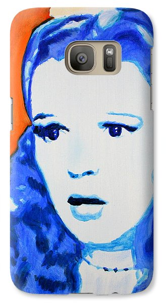 Galaxy Case featuring the painting Judy Garland Dorothy Wizard Of Oz by Bob Baker