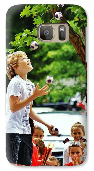 Galaxy Case featuring the photograph Juggling... by Al Fritz