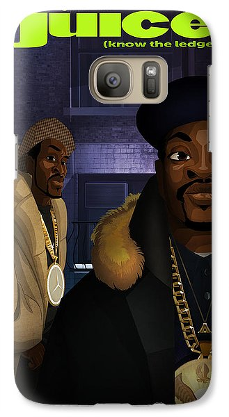 Galaxy Case featuring the drawing Juice by Nelson  Dedos Garcia