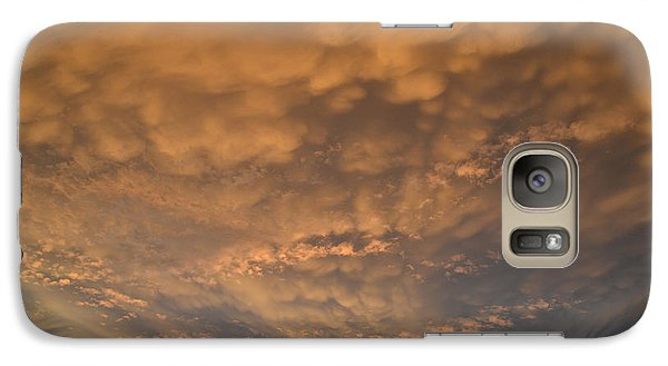 Galaxy Case featuring the photograph July 19-2013 Sunset Sky  by Lyle Crump