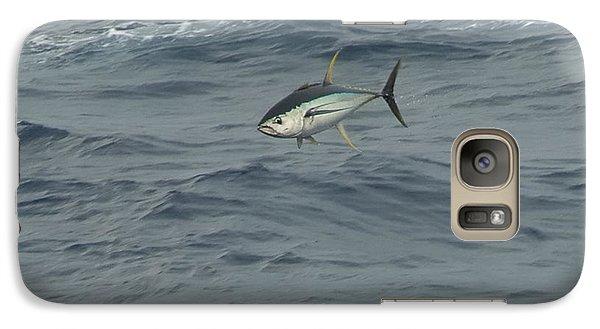 Jumping Yellowfin Tuna Galaxy S7 Case