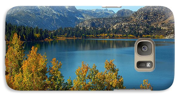 Galaxy Case featuring the photograph June Lake Blues And Golds by Lynn Bauer