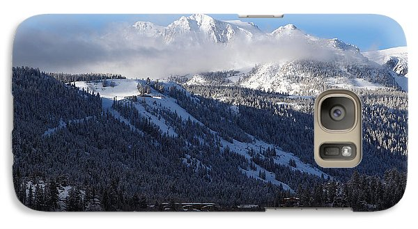 Galaxy Case featuring the photograph June Lake Winter by Duncan Selby