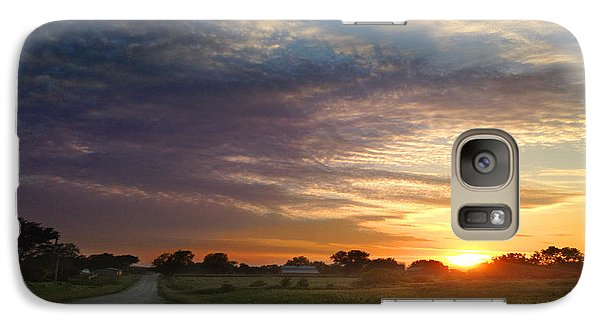 Galaxy Case featuring the photograph June Sky Osage County by Rod Seel