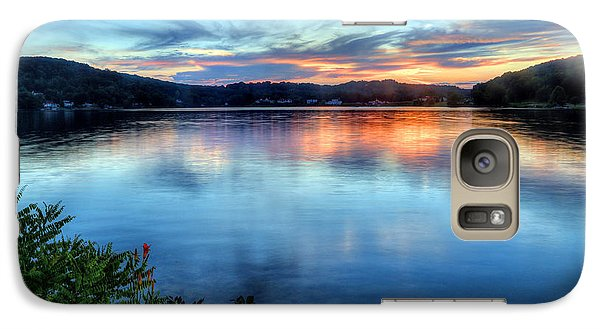 Galaxy Case featuring the photograph June Sunset by Jaki Miller