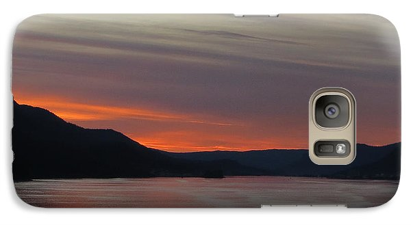 Galaxy Case featuring the photograph Juneau Alaska by Jennifer Wheatley Wolf