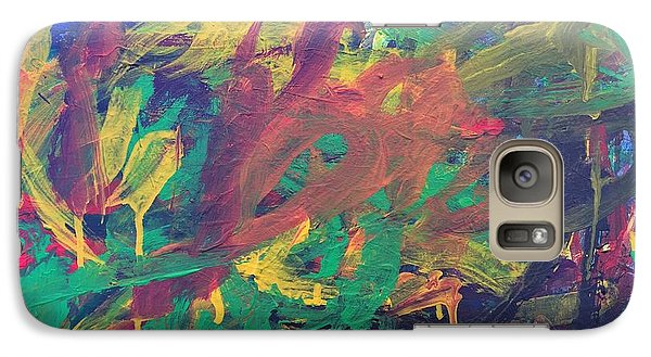 Galaxy Case featuring the painting Jungle by Donald J Ryker III