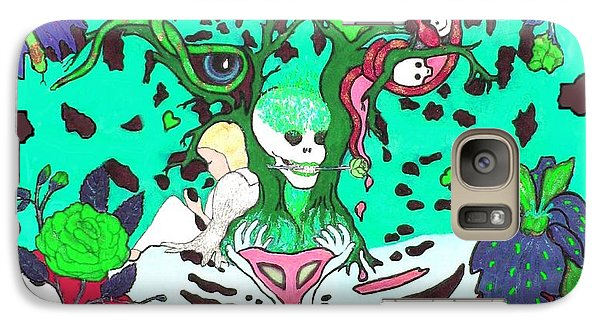 Galaxy Case featuring the digital art Jungle Fever 4 by Stephanie Grant