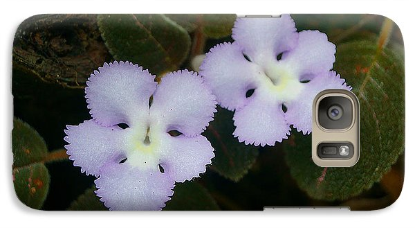 Galaxy Case featuring the photograph Jungle Wildflower by Blair Wainman