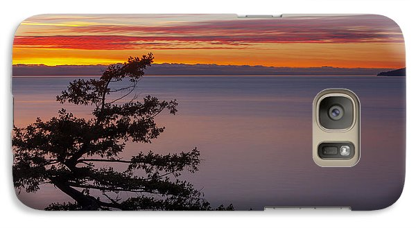 Galaxy Case featuring the photograph Juniper Point by Jacqui Boonstra