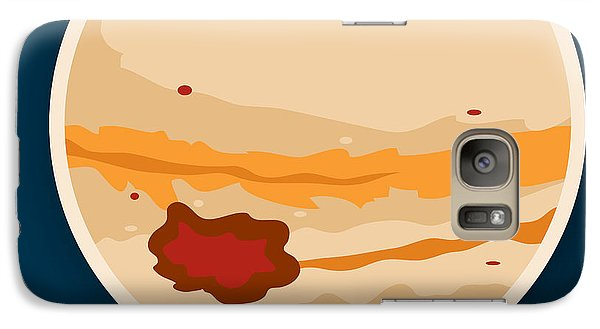 Jupiter Galaxy Case by Christy Beckwith