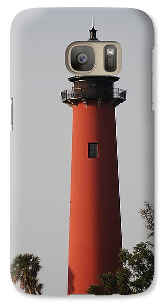 Galaxy Case featuring the photograph Jupiter Lighthouse by George Mount