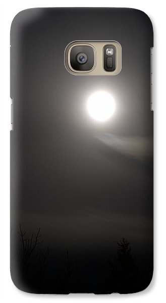 Galaxy Case featuring the photograph Jupiter With The Moon by Guy Hoffman