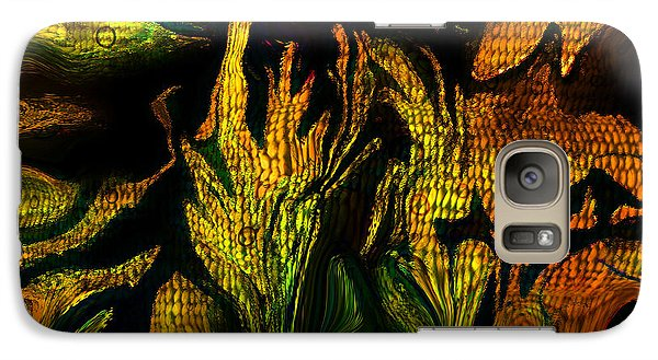 Galaxy Case featuring the painting Jupiters Garden by Sherri  Of Palm Springs