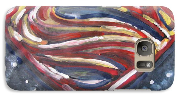 Galaxy Case featuring the painting Just A Country Boy Eh? by Vikram Singh