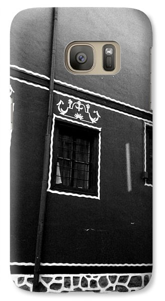 Galaxy Case featuring the photograph Just A House by Lucy D