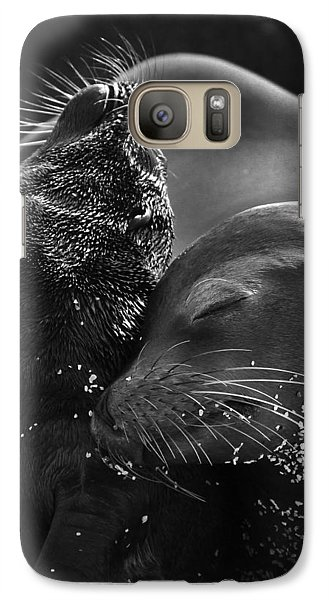 Galaxy Case featuring the photograph Just A Little Lower Mom by Gary Hall