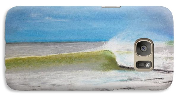 Galaxy Case featuring the painting Just A Wave by Stan Tenney