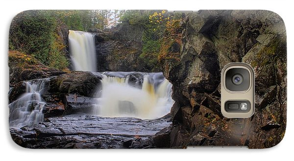 Galaxy Case featuring the photograph Just Around The Bend by Greg DeBeck