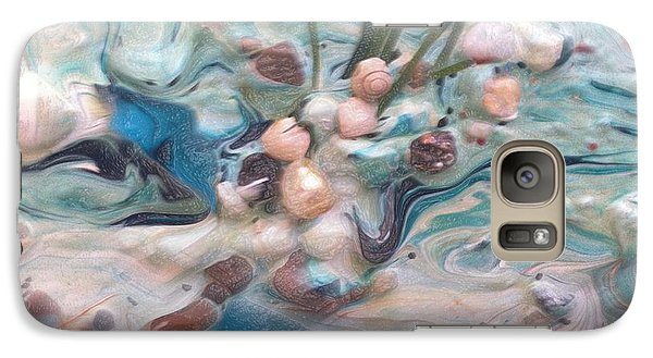 Galaxy Case featuring the painting Just Beaching by Sherri  Of Palm Springs