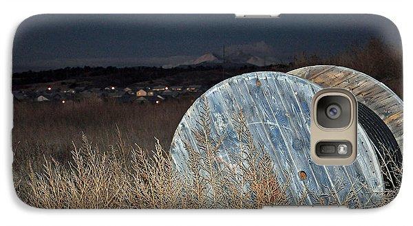 Galaxy Case featuring the photograph Just Before Dawn by Minnie Lippiatt