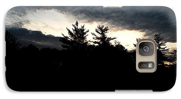 Galaxy Case featuring the photograph Just Before Sunrise by Lila Fisher-Wenzel