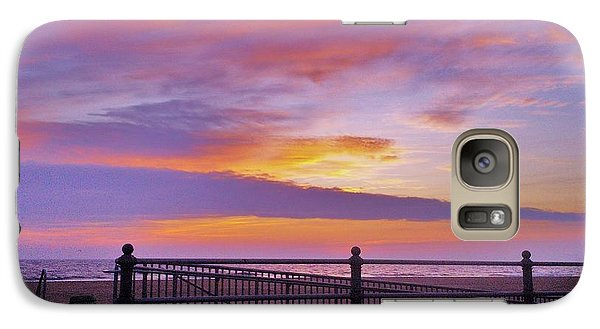 Galaxy Case featuring the photograph Just Before Sunrise by Robin Coaker