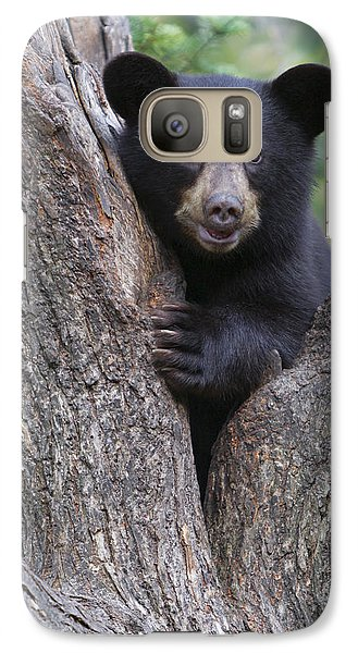 Galaxy Case featuring the photograph Just Being Coy by Gerry Sibell