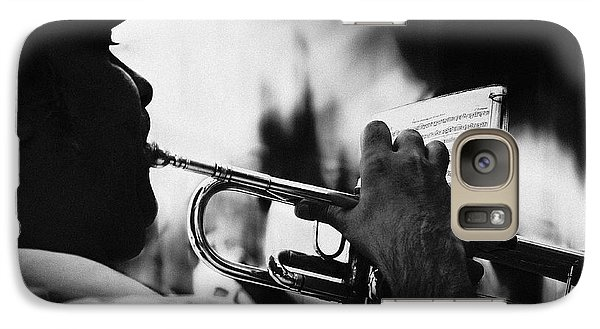Trumpet Galaxy S7 Case - Just Follow My Lead by Rui Correia