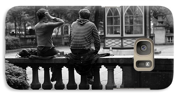 Galaxy Case featuring the photograph Just Friends 01 by Dorin Adrian Berbier