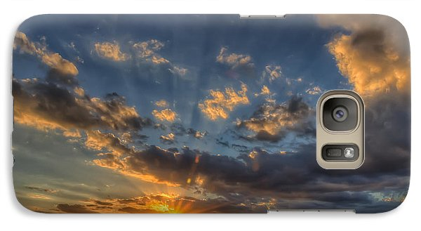 Galaxy Case featuring the photograph Just In Time by Tim Stanley