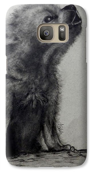 Galaxy Case featuring the painting Just Like Mama by Annamarie Sidella-Felts