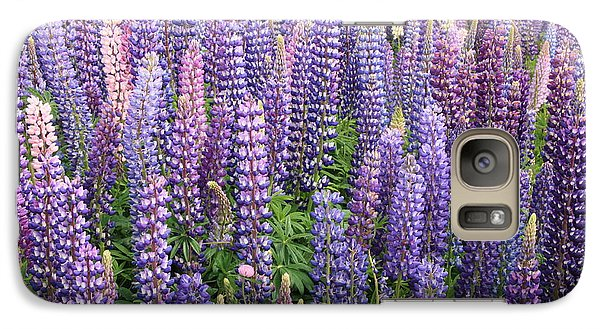 Galaxy Case featuring the photograph Just Lupins by Nareeta Martin