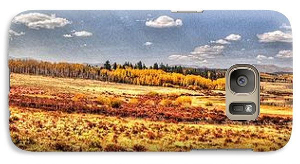 Galaxy Case featuring the photograph Just North Of Fairplay Colorado by Lanita Williams