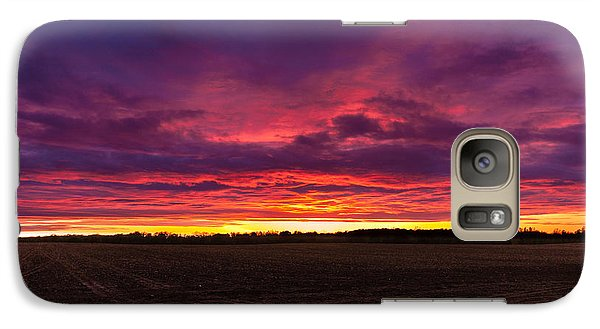 Galaxy Case featuring the photograph Just Planted  by Lars Lentz