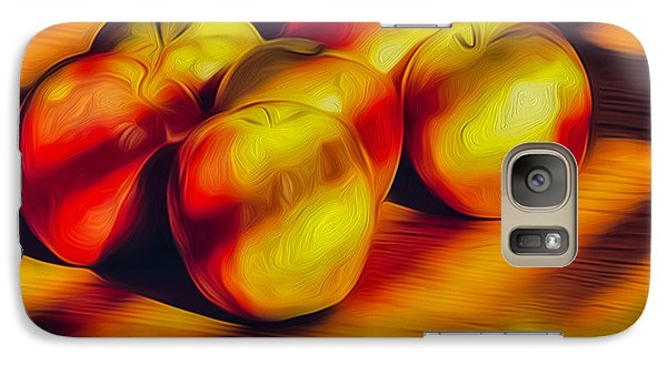 Galaxy Case featuring the photograph Just Ripe Enough by Nancy Marie Ricketts