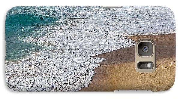 Just Waves And Sand By Kaye Menner Galaxy S7 Case by Kaye Menner