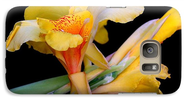 Galaxy Case featuring the photograph Just Yellow by Geri Glavis