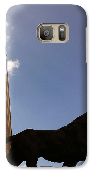 Galaxy Case featuring the photograph Justice by Lucy D