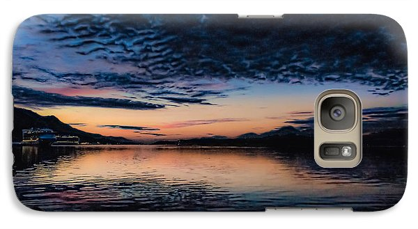 Galaxy Case featuring the photograph K Town Sunrise by Timothy Latta